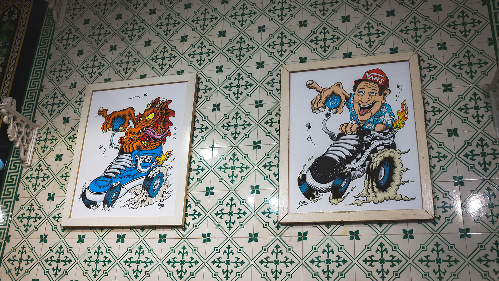 Steve Caballero Vans Shop Artworks2