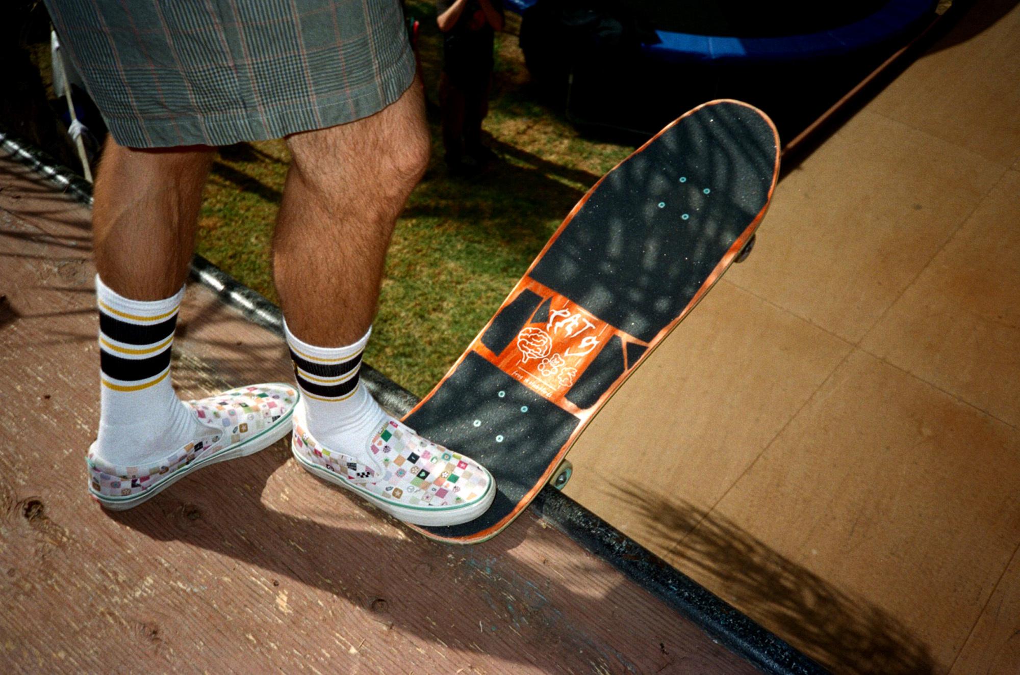 Vans Skateboarding x Frog