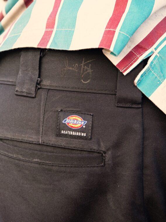 Black pant signature
