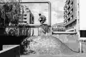 Noah Mahieu Nosegrind tailgrab Bilbao 2 Chouleur