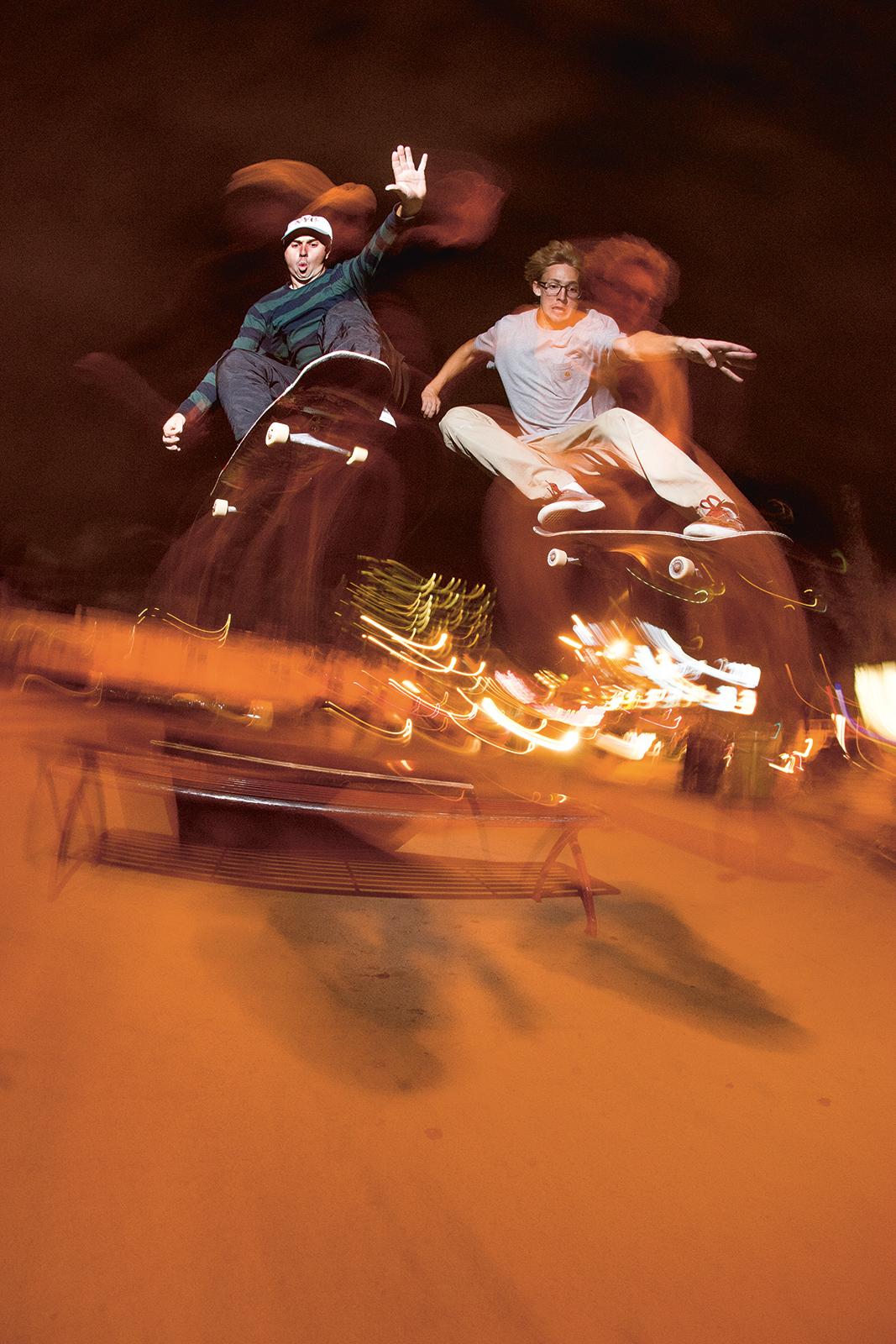 Jesse Alba and Chris Millic – Ollie | Photo: Matt Price