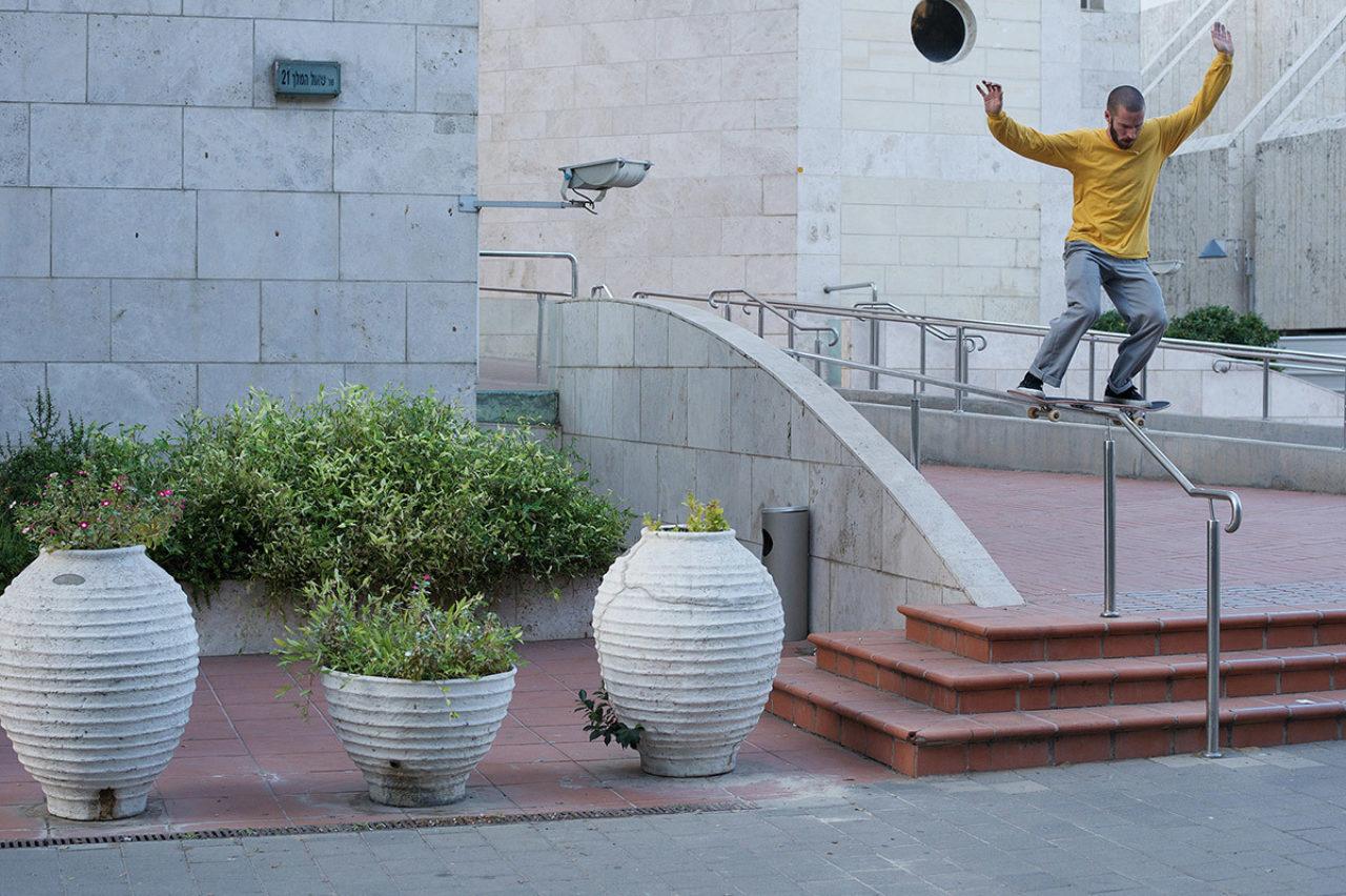 Solo Mickael Germond Boardslide Tel Aviv