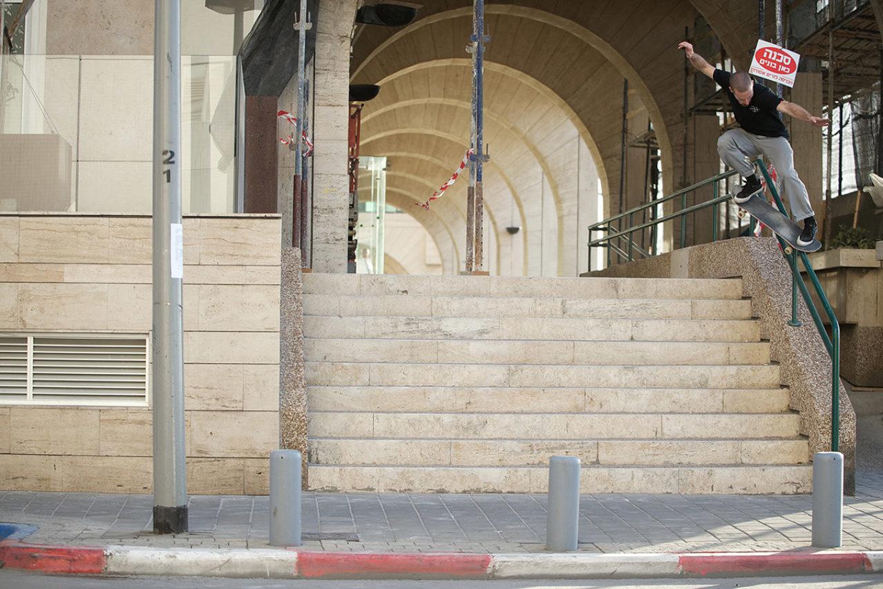 Solo Mickael Germond Crooked Grind Tel Aviv