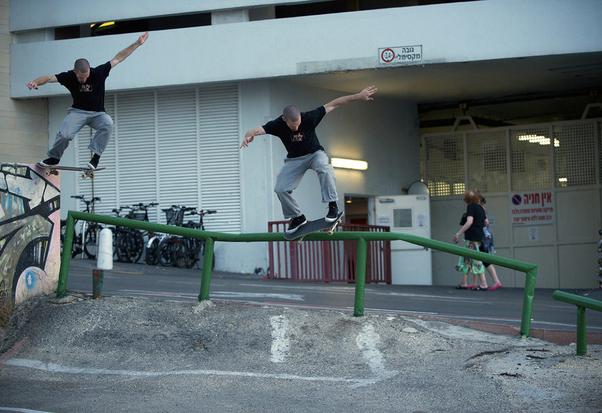 Solo Mickael Germond Montage Taildrop Fifty Pop In Tel Aviv