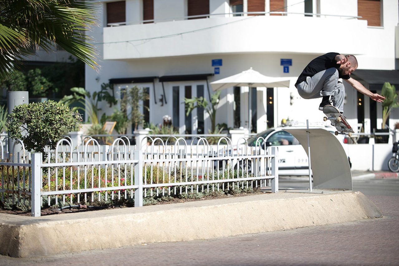 Solo Mickael Germond Ollie Fifty In Tel Aviv