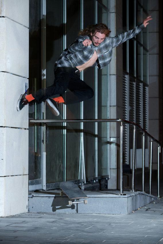 Solo Quentin Boillon Hippy Jump Footplant Tel Aviv