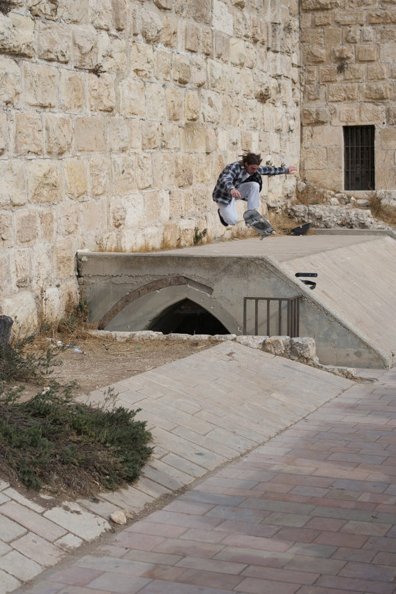 Solo Quentin Boillon No Comply Jerusalem