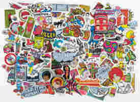 Sticker Collection By Gorm Boberg