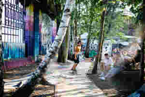 Volcom garden experience Berlin Garden Snakerun swabianmadness