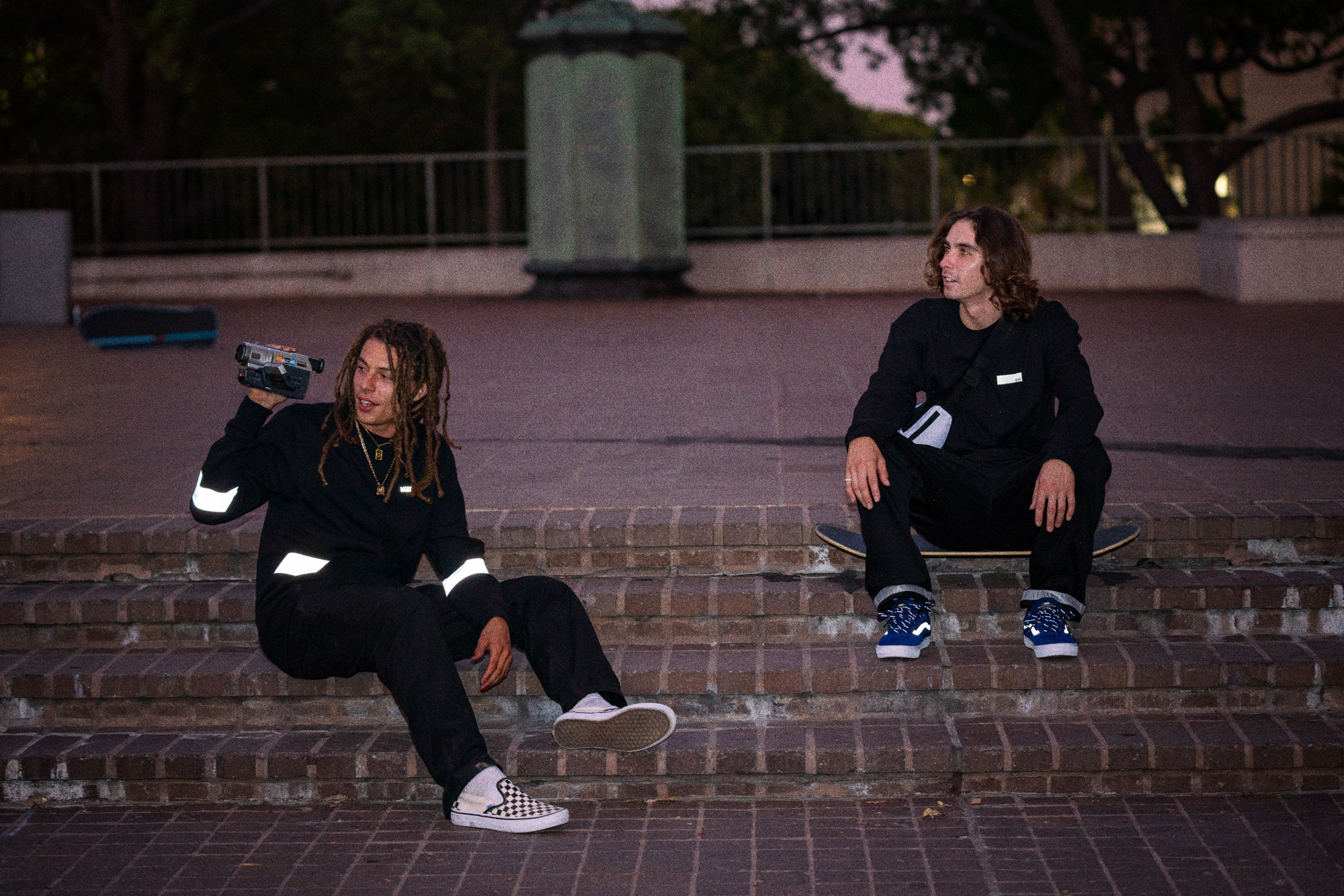 Vans Reflective Pack SOLO Skateboardmagazine (en)
