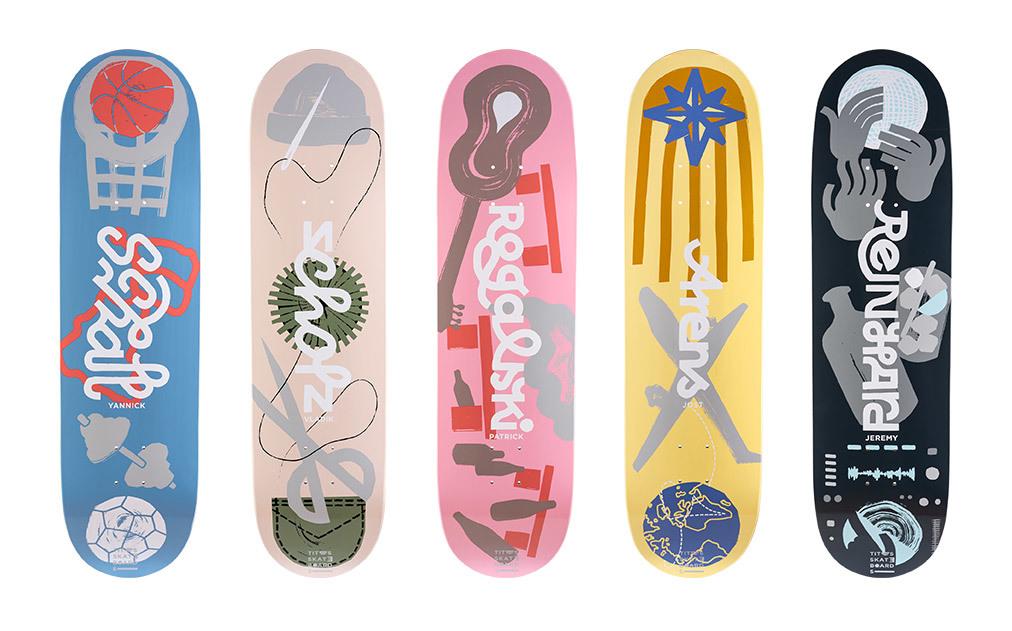 Titus Pro Skateboardmagazinede Boards SOLO Titus xrBodCeW
