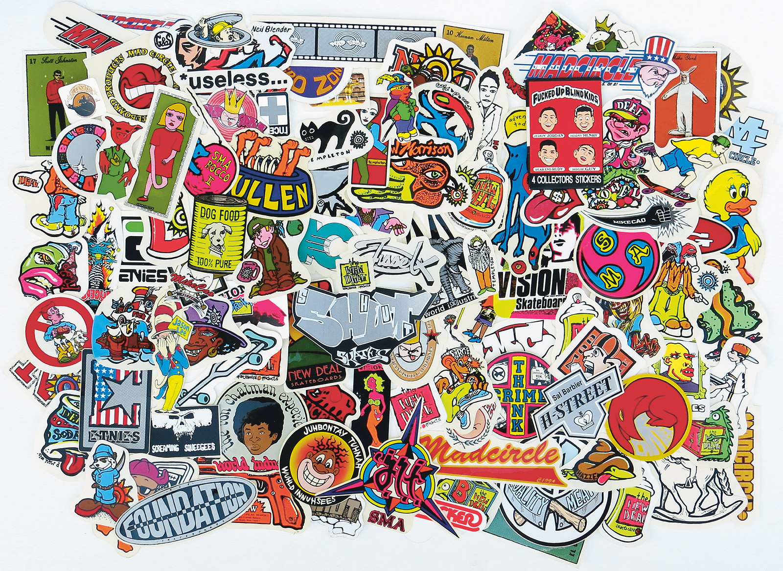 Sticker Collection By Gorm Boberg