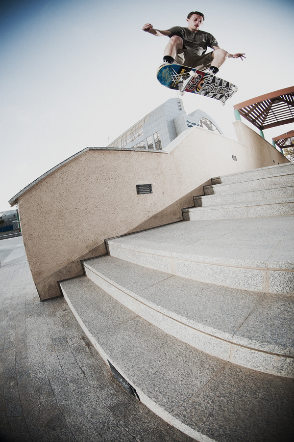 Daniel Spiegel – Switch Frontside Flip