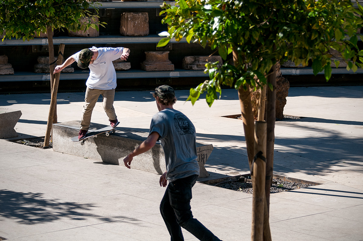 Fabian Lang – Switch Backside Smithgrind Pop Out