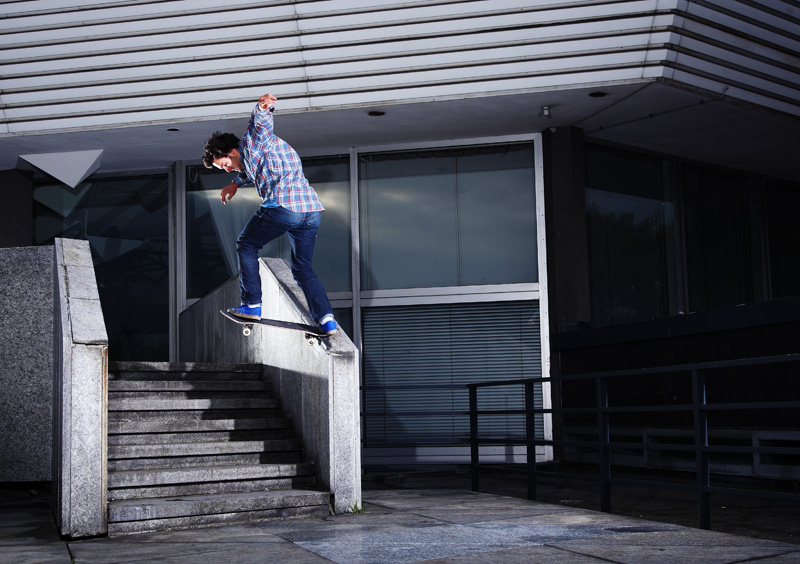 Paul Weisser – Backside Tailslide