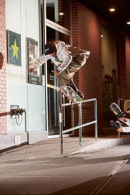 Tyshawn Jones – Backside 5-0