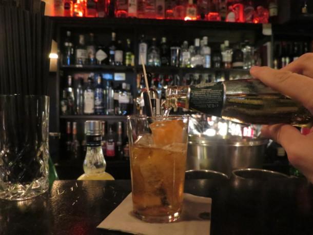 Bourbon-Highball