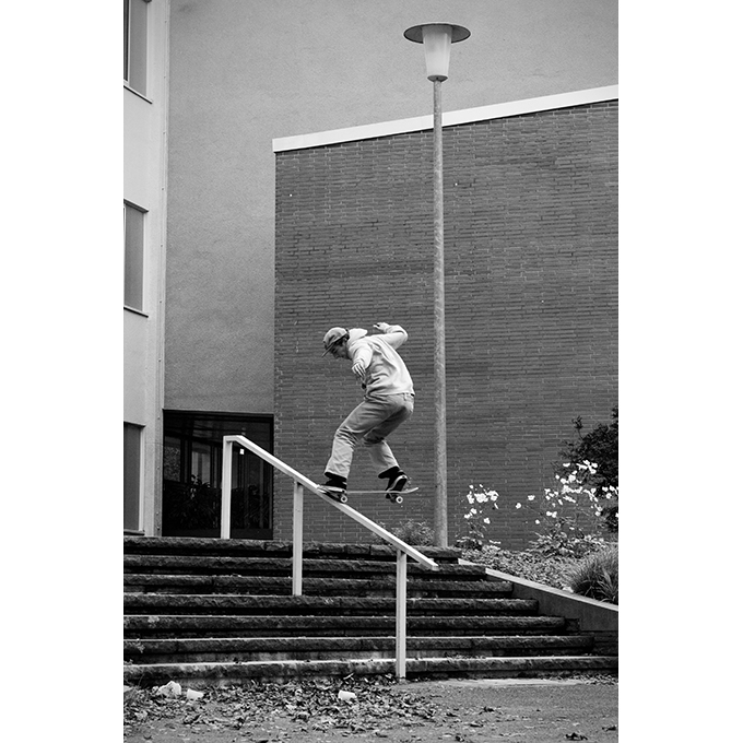 Maxi Schaible – Backside 180 Nosegrind