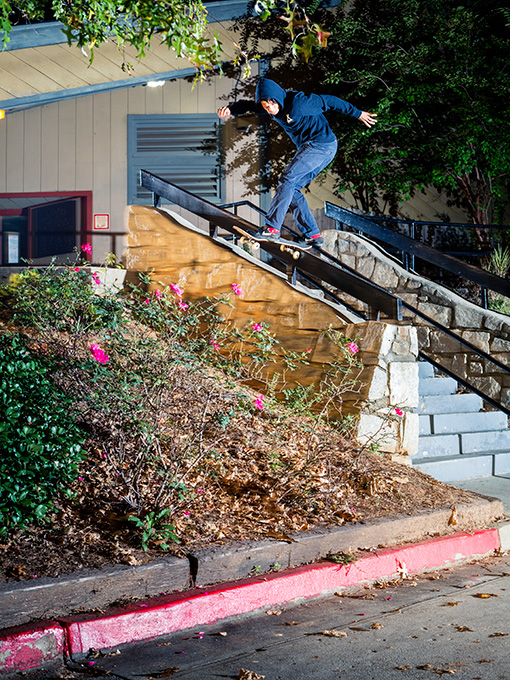 Trevor Colden Backside Tailslide