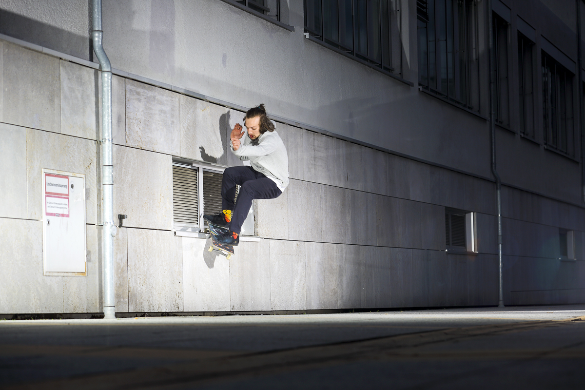 Andre Gerlich – Frontside Smith 180 out