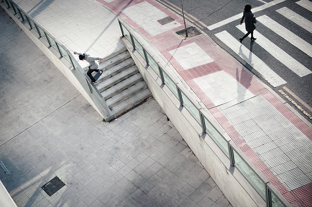 Patrick Rogalski - Frontside Noseslide