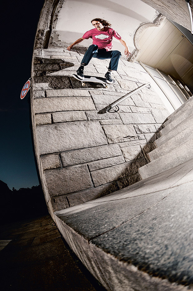 Evan Smith – Backside Wallride