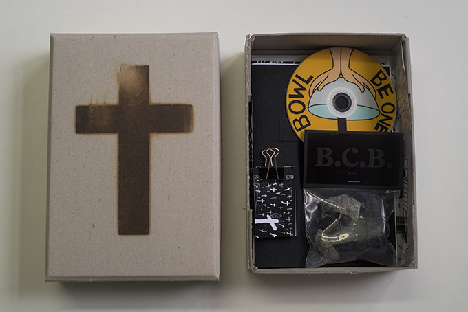 Black Cross Bowl