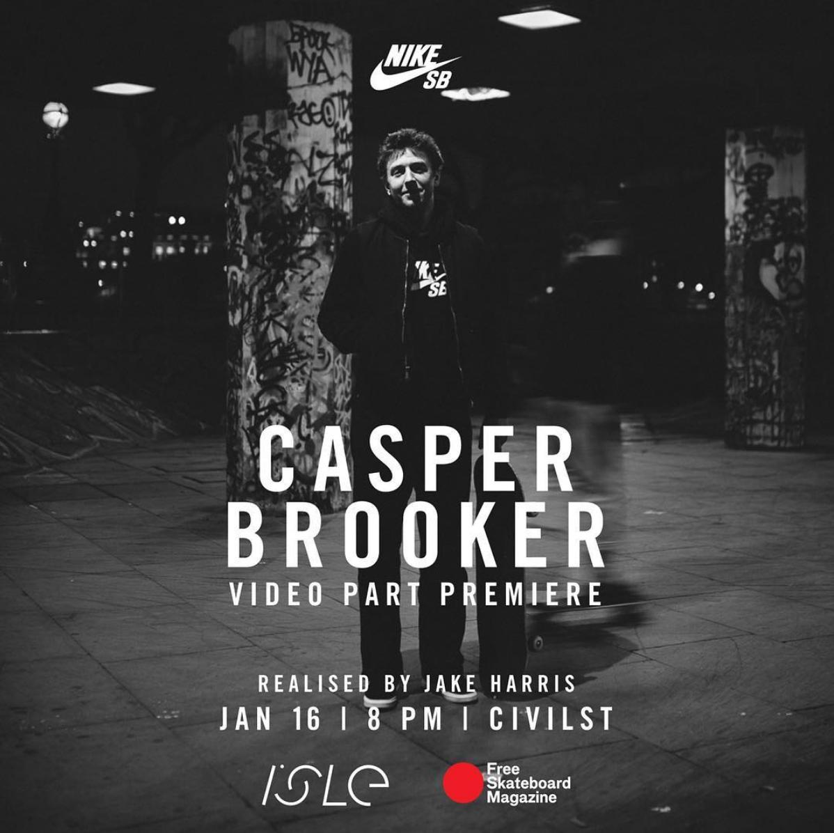 Casper Brooker Videopart